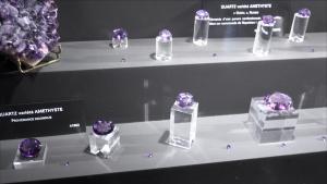 Améthyste, topaz, quartz, aigue marine... Le musée de Minéralogie de MINES ParisTech est n°4 dans le monde pour sa variété d'échantillons.