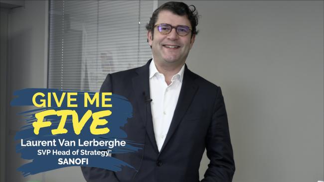 Laurent Van Lerberghe – SANOFI : «Chacun est un leader»