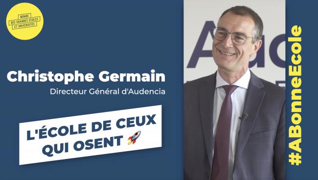 Christophe Germain : «Audencia est une école internationale à taille humaine»