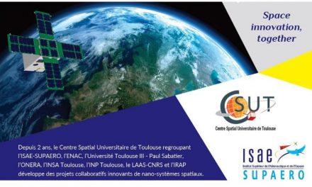 Le centre Spatial Universitaire de Toulouse fête ses 2 ans