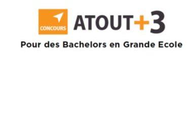 Concours Atout+3 : Bilan positif pour l'année 2017