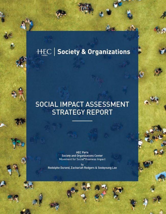 Society & Organizations Center d'HEC : Un nouveau rapport de référence sur la mesure d'impact social