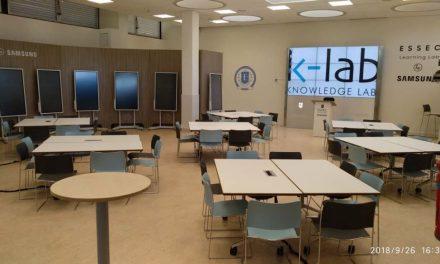 L'ESSEC Business School et Samsung inaugure le nouvel espace modernisé K-Lab by Samsung