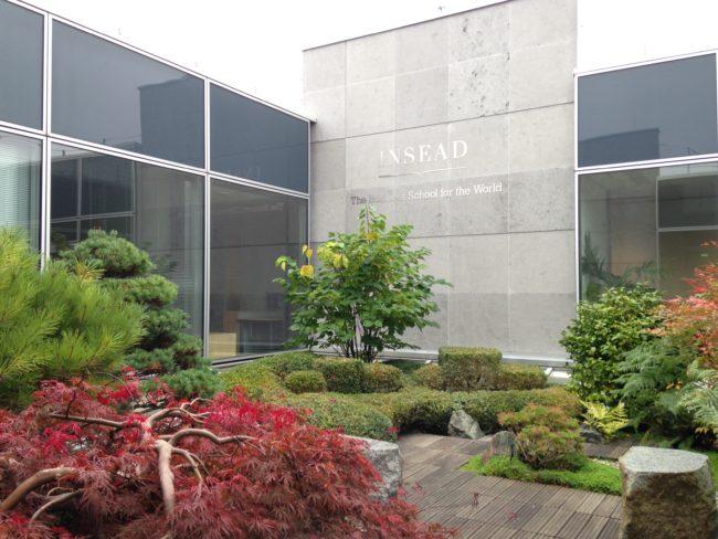 Ce jardin japonais porte le nom d'un alumni, Hans Hammer, et son épouse, généreux donateurs à l'INSEAD -