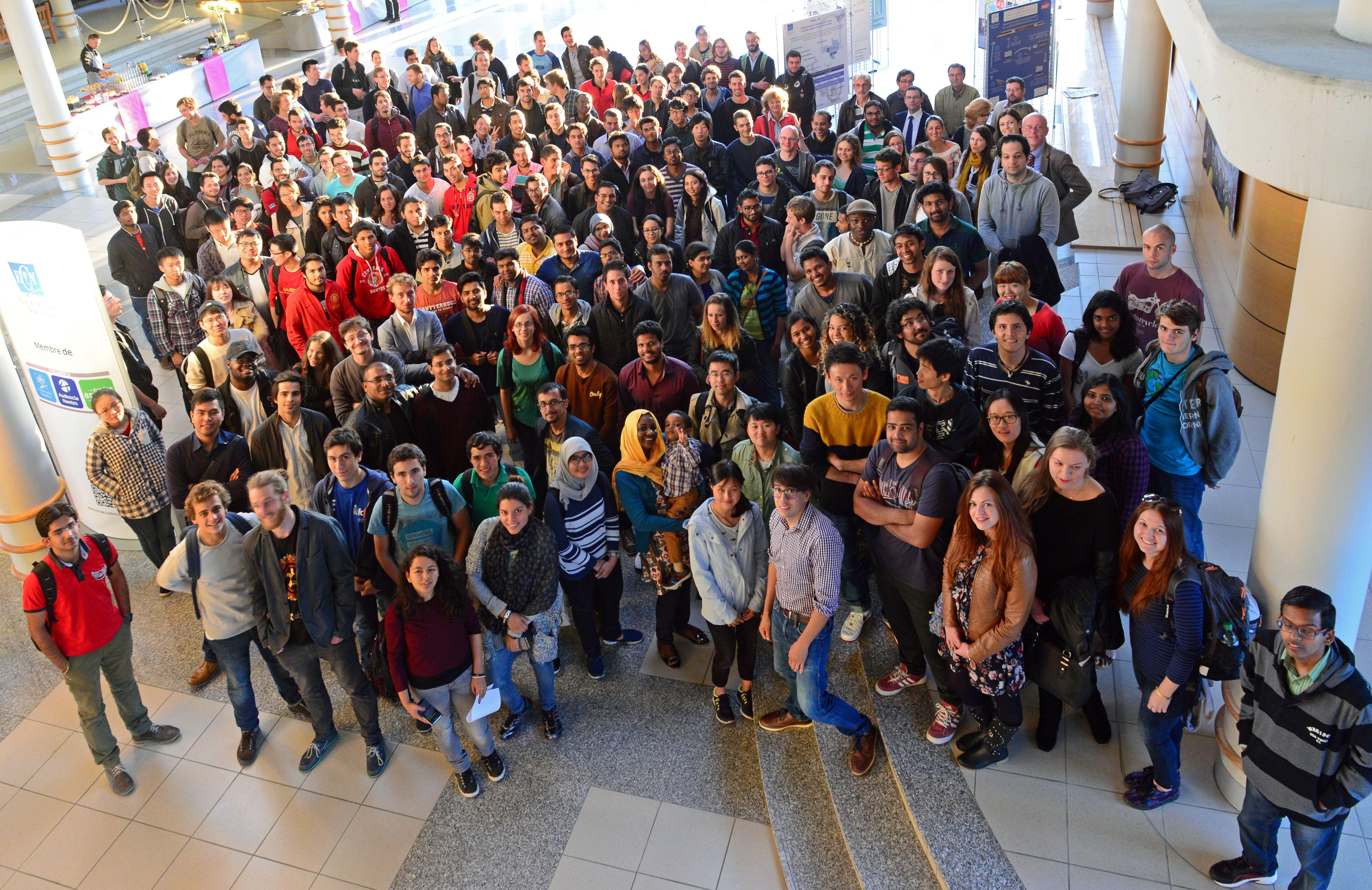 Cérémonie internationaux Centrale Nantes