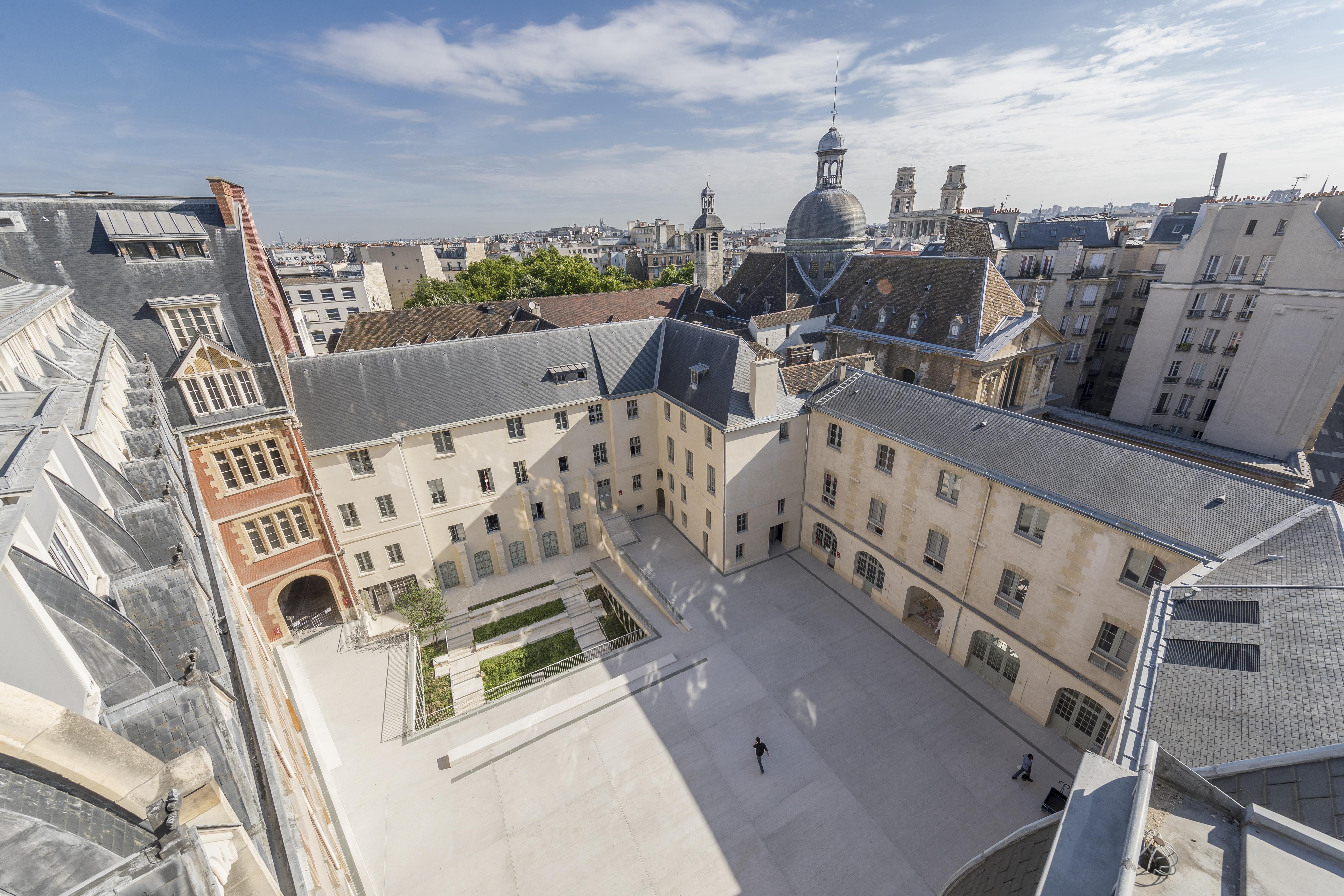 Le campus de l'ICP vu du ciel (c) Frédéric Albert