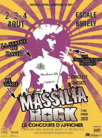 Massila Rock Festival : Concours d'affiches