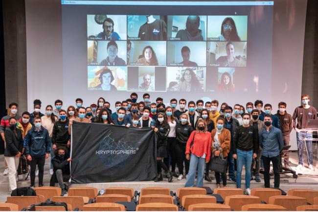 KRYPTOSPHERE, l'association étudiante pionnière de la FrenchTech