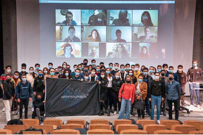 KRYPTOSPHERE®, l'association étudiante pionnière de la FrenchTech