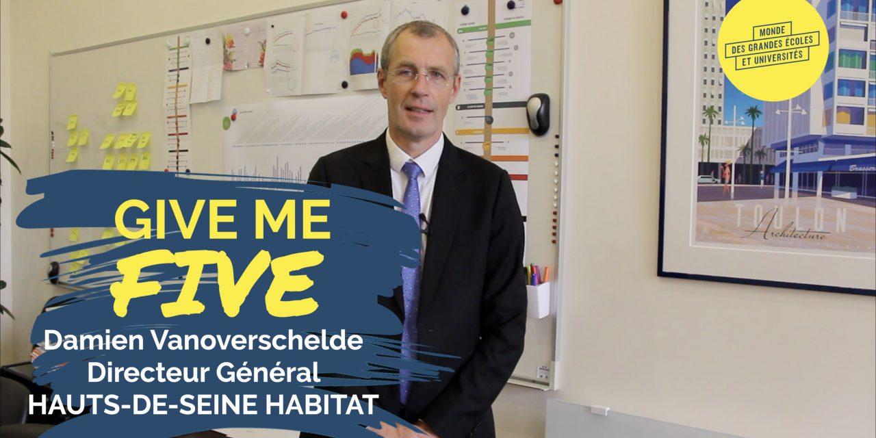 Damien Vanoverschelde – HAUTS-DE-SEINE HABITAT : «L'attention est au coeur de nos actions»