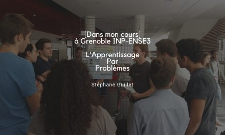 [Dans mon cours] L'APP pour développer les compétences des étudiants à Grenoble INP – Ense3