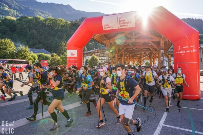 Raid Hannibal d'emlyon : l'association de trail prend l'air