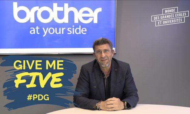GIVE ME FIVE #PDG – Didier Delfino, Président Brother France