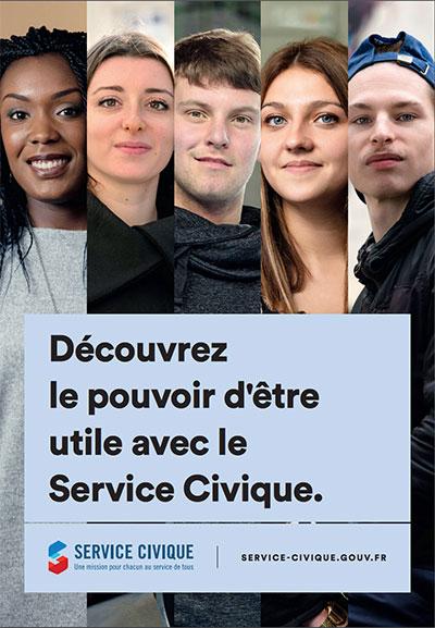 Les jeunes du Service Civique mobilisés dans la lutte contre le COVID-19