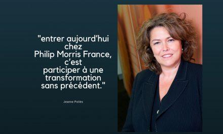 Jeanne Pollès, présidente de Philip Morris France «vous êtes les bienvenues !»