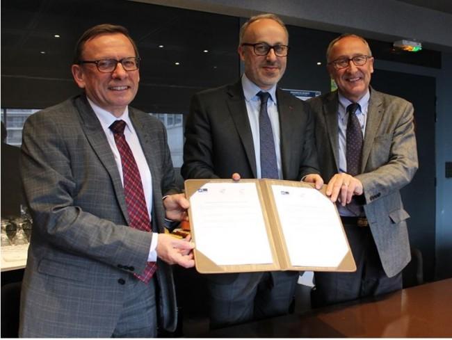 Mines Douai et Mines Alès créent l'institut du génie civil