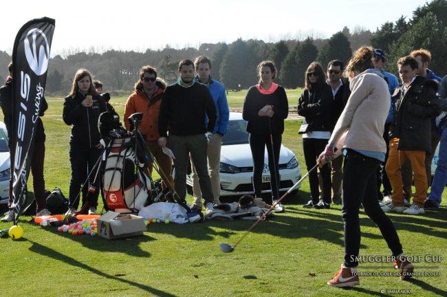 Place au networking et aux 18 trous à l'Ailion Golf Cup