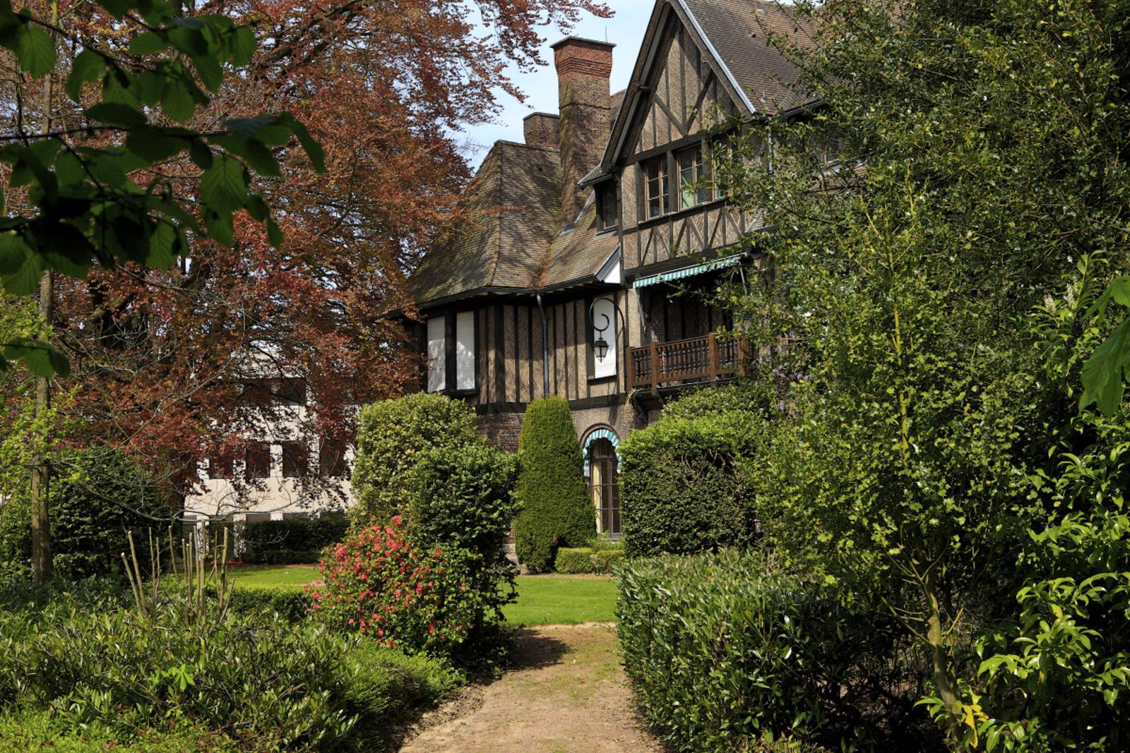 Jardin du manoir Manoir EDHEC