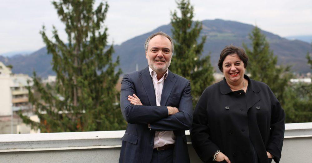 Thierry Lasalle et Catherine Baldassarre, DRH et DRH adjointe d'Artelia