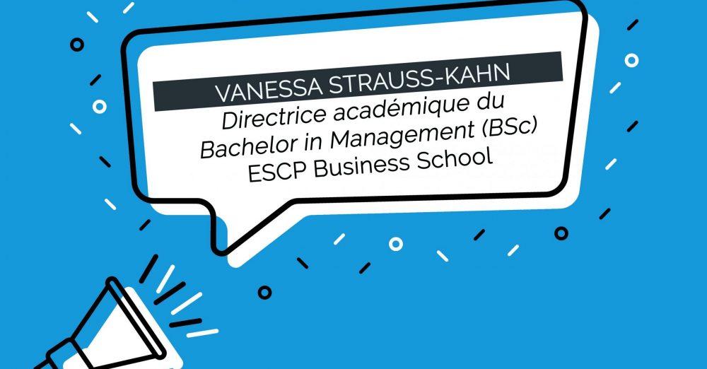 le Professeur Vanessa Strauss-Kahn est nommée Directrice académique du Bachelor in Management (BSc)