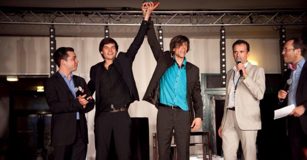 L'équipe i2c, lauréate du label meilleur espoir