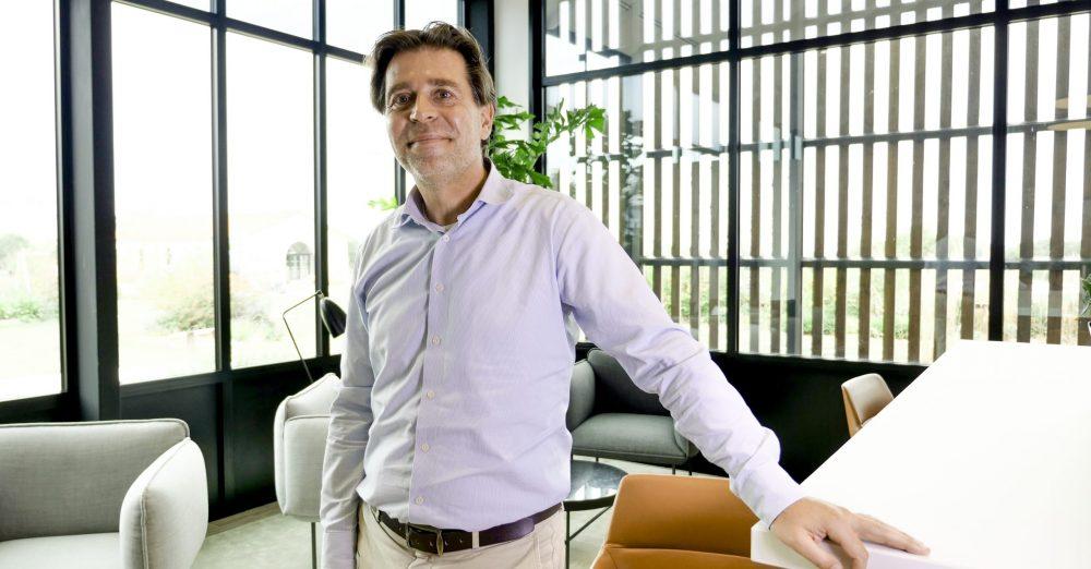 Dans son interview, Jean-François Fournier, Directeur Général GMS France de Fleury Michon incite les jeunes dip' à participer à la transformation de ce fleuron de l'agroalimentaire