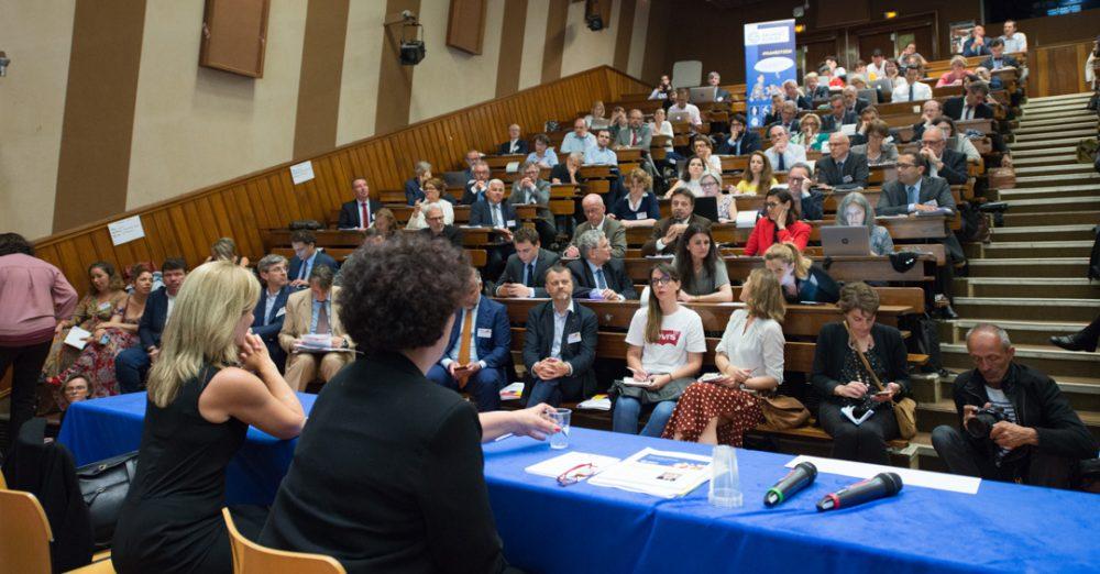 L'ouverture et la diversité sociale, au cœur des annonces d'Anne-Lucie Wack et de la ministre Frédérique VIdal lors de l'AG de la Conférence des Grandes Ecoles (CGE) crédit Epoka / CGE