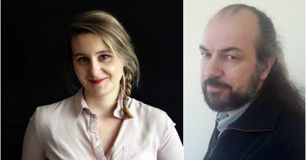 Agathe François (© Maissa Ben Jelloul) et Marc Roux