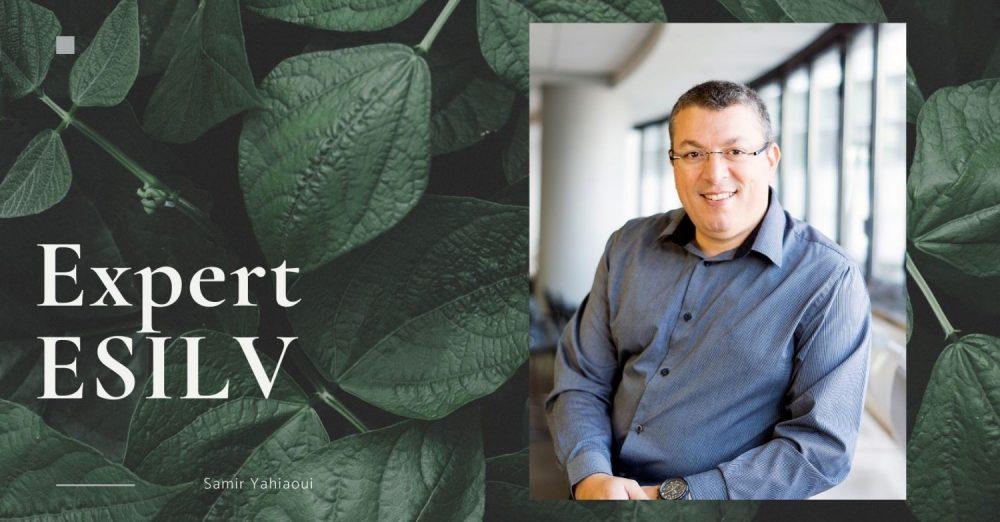 Samir Yahiaoui, expert de l'ESILV Crédit photo : Pôle Léonard de Vinci