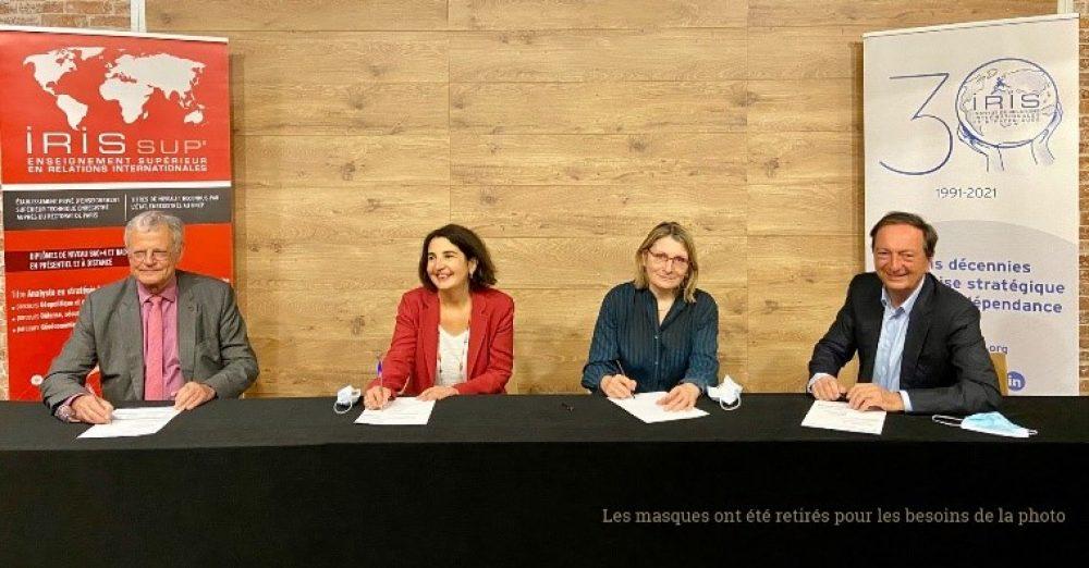 L'IRIS et NEOMA Business School deviennent partenaires (c) NEOMA Business School