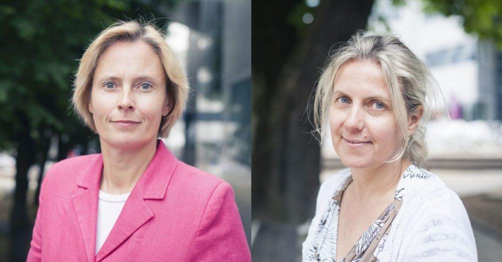 Isabelle Allemand et Bénédicte Brullebaut, de l'équipe Finance, Gouvernance & RSE de BSB