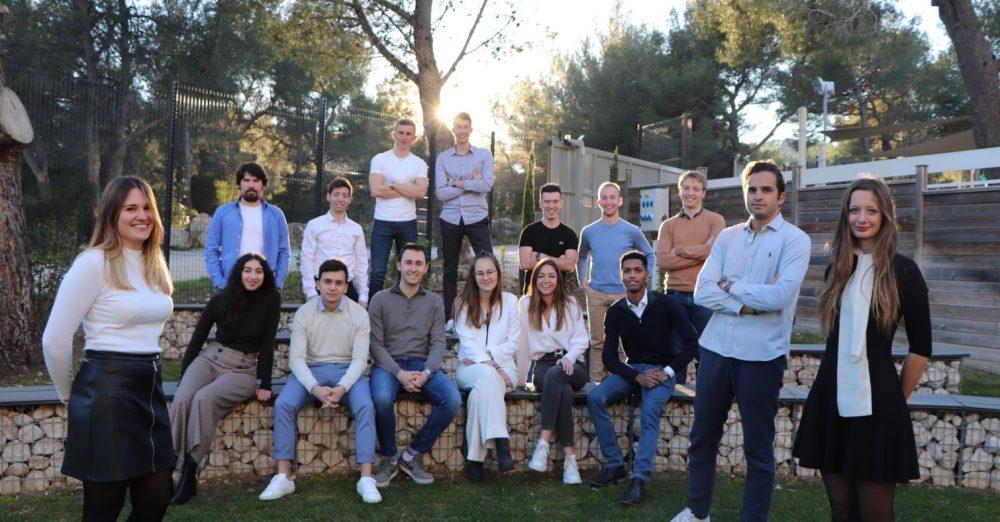 L'équipe de la Junior-Entreprise Marketing Méditerranée de KEDGE Business School Marseille.  ©Marketing Méditerranée