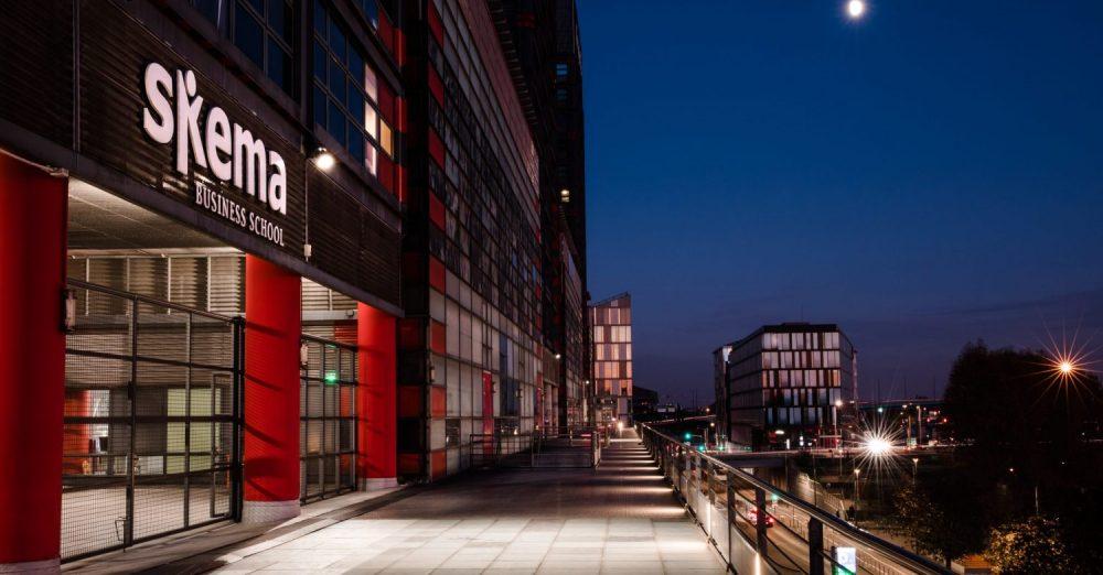 Le campus Skema Business School au plein cœur de Lille, une des villes les plus étudiantes de France – Crédit Skema BS