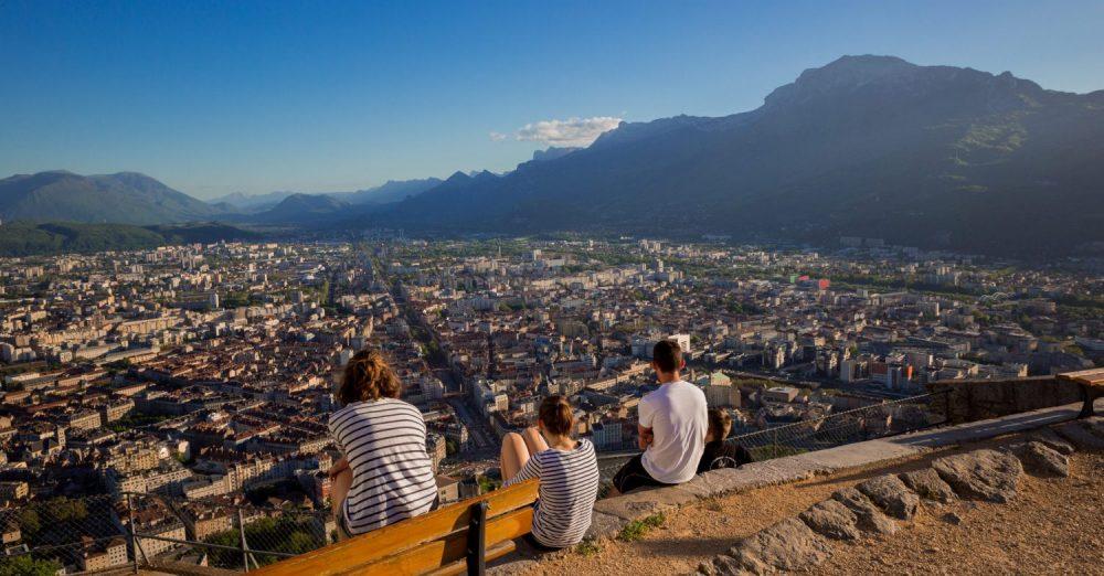 Vue panoramique de Grenoble crédits Pierre Jayet