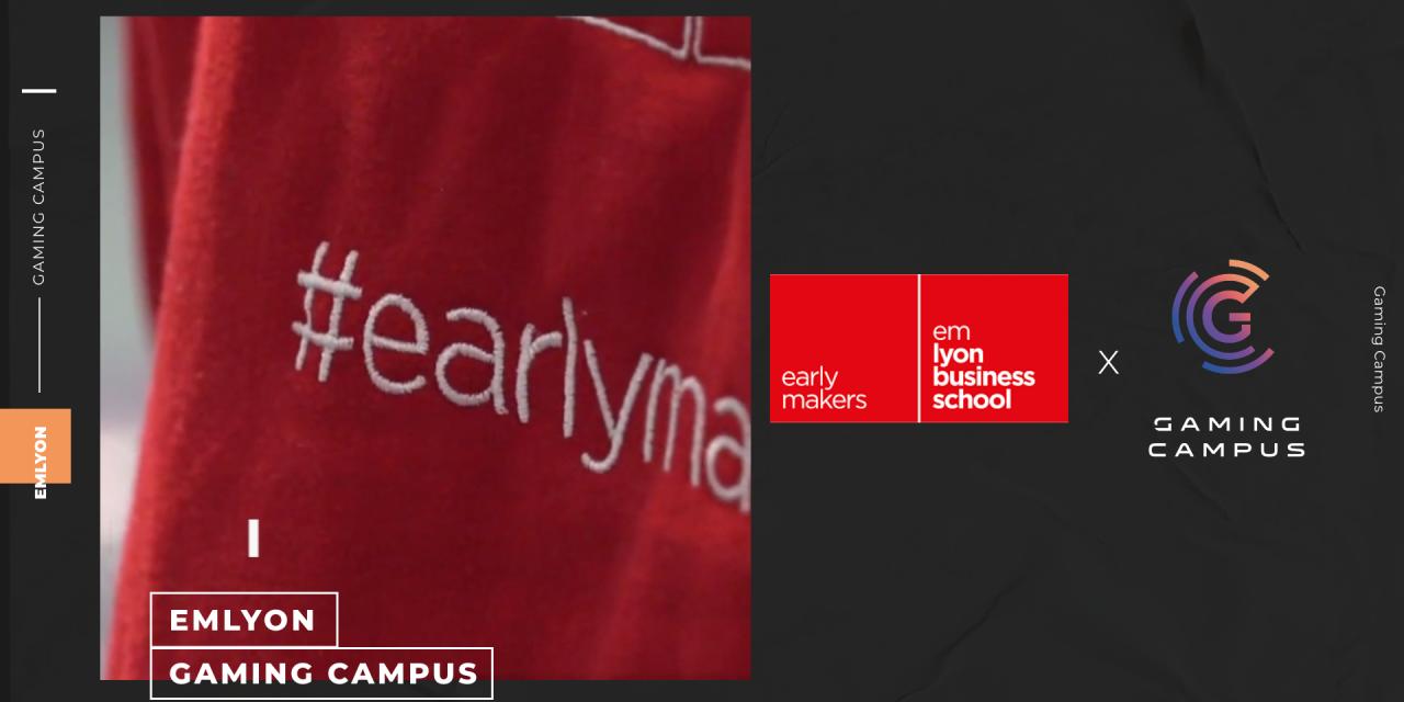 emlyon business school s'investit de façon inédite dans l'esport avec Gaming Campus