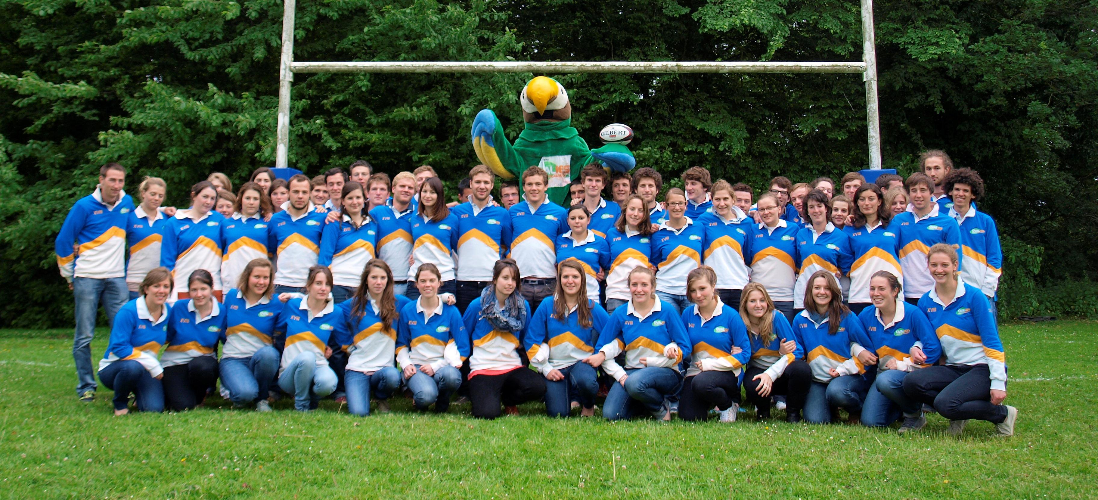 Les Ovalies LaSalle Beauvais des 3 et 4 mai 2013 : le plus grand tournoi de rugby universitaire européen à but humanitaire.