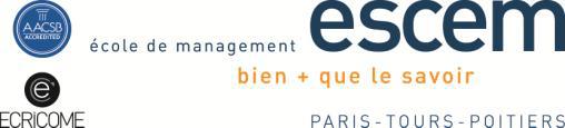 L'ESCEM et l'Université de Poitiers créent un cursus en double-diplôme