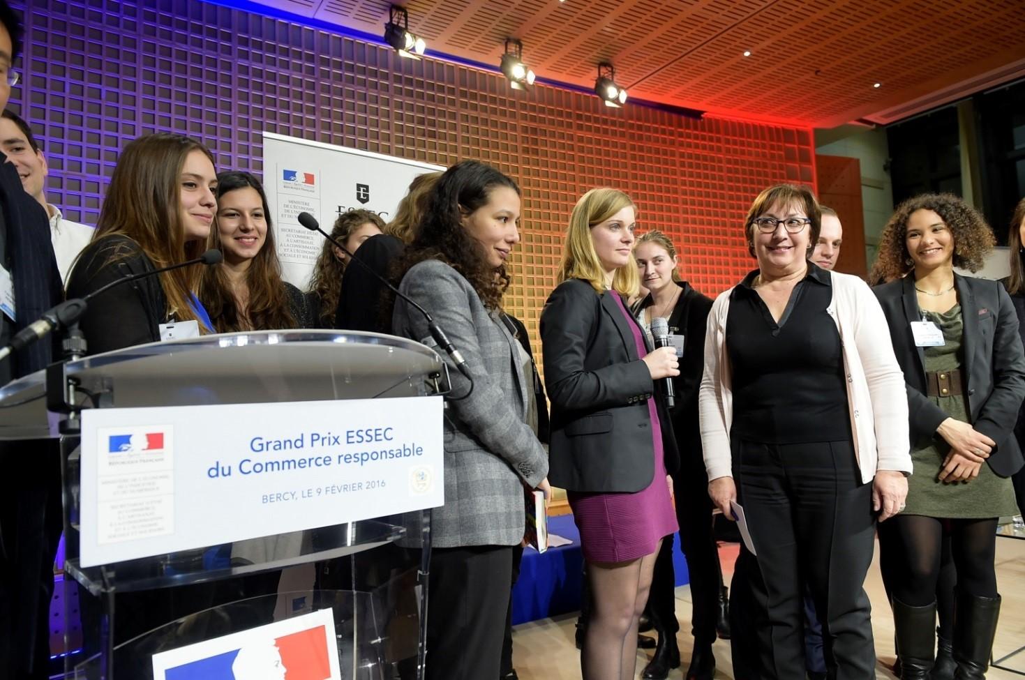 3ème édition du Grand Prix ESSEC du Commerce Responsable : Carrefour remporte le Grand Prix 2016