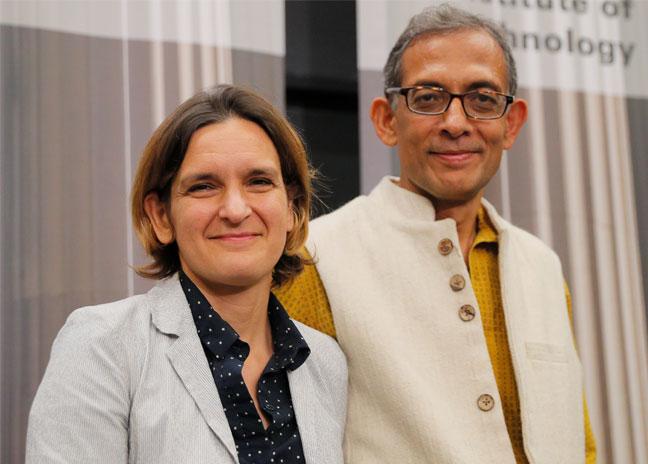 Esther Duflo et Abhijit Banerjee rejoignent l'ENS-PSL et PSE pour l'année universitaire 2020/2021