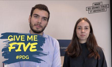 GIVE ME FIVE #PDG – Etudiants