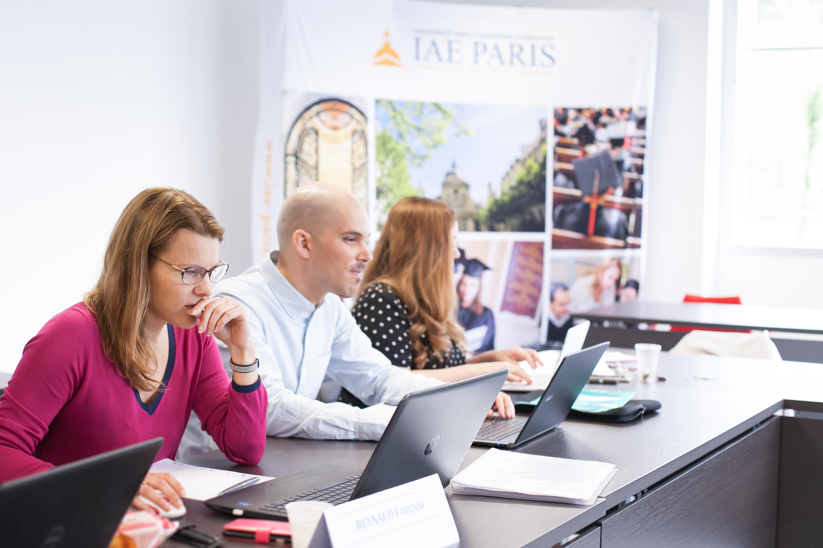 Etudiants © IAE Paris