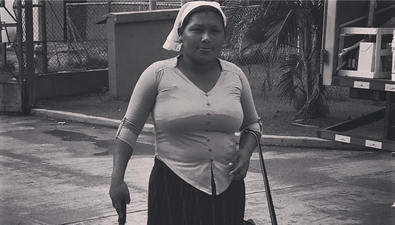 Panaméenne typique à Bocas del Toro