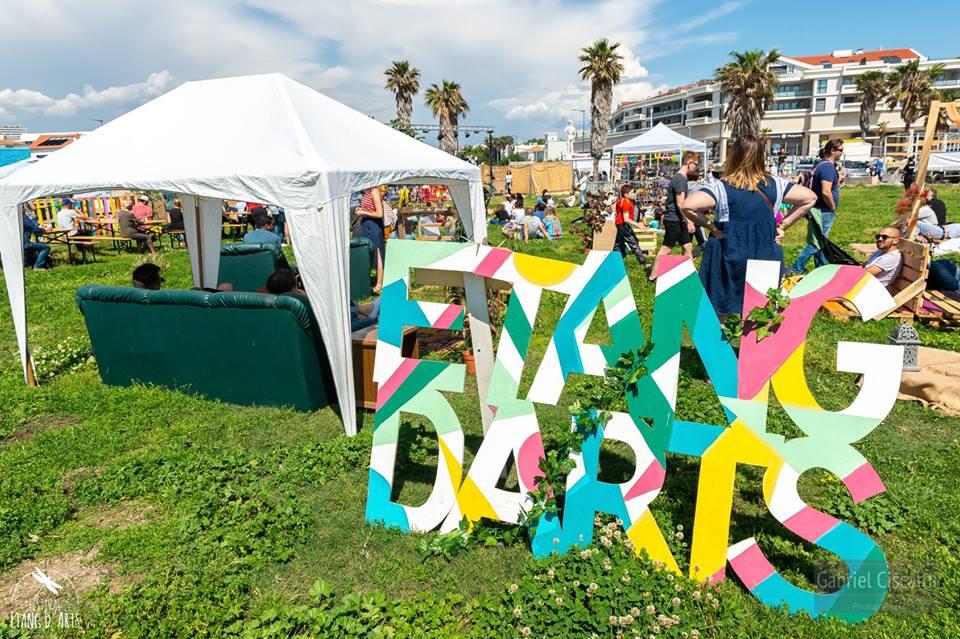 Sous le soleil du festival Etang d'Arts