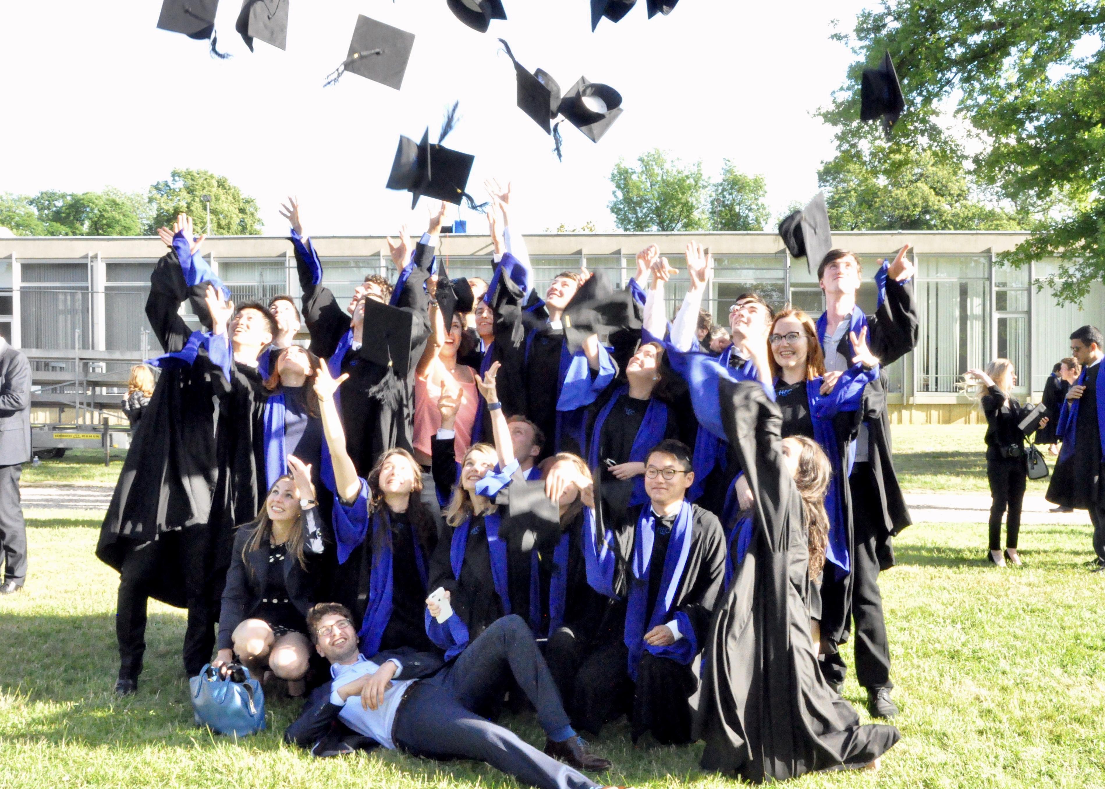 diplômés HEC Paris juin 2017