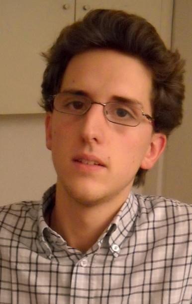 Augustin Deney, élève en master RH à Sciences Po et malvoyant