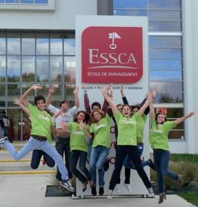 Equipe Handi Management de l'ESSCA d'Angers