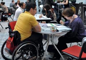 Tremplin participe à de nombreux forums pour rencontrer des étudiants en situation de handicap
