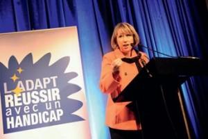 Marie-Anne Montchamp, Secrétaire d'Etat aux Solidarités et à la Cohésion Sociale