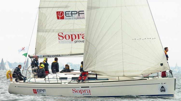 EPF Voile : cap sur la Course Croisière EDHEC
