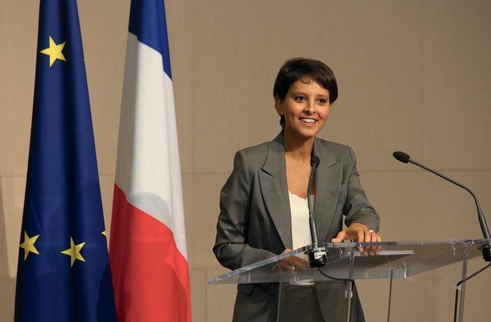 Najat Vallaud-Belkacem, ministre des Droits des femmes : Une ministre en première ligne